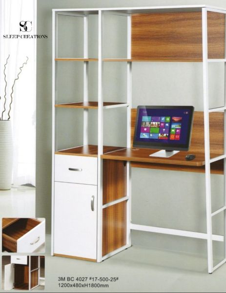 Scaff Book Shelf with Study Table