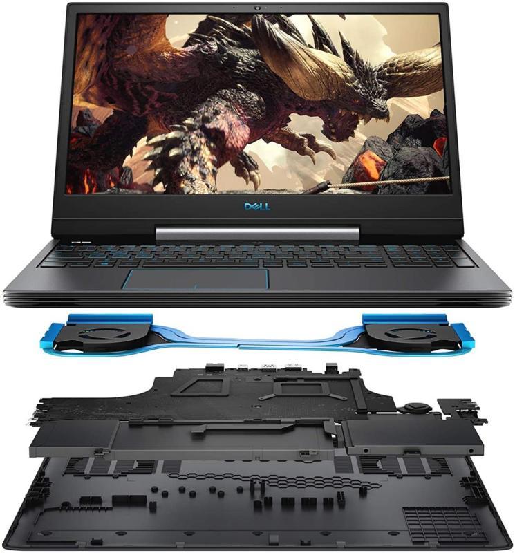 Dell G5 15 Gaming Laptop (Windows 10 Home, 9th Gen Intel Core i7-9750H, NVIDIA GTX 1650, 15.6 FHD LCD Screen, 256GB SSD and 1TB SATA, 16 GB RAM