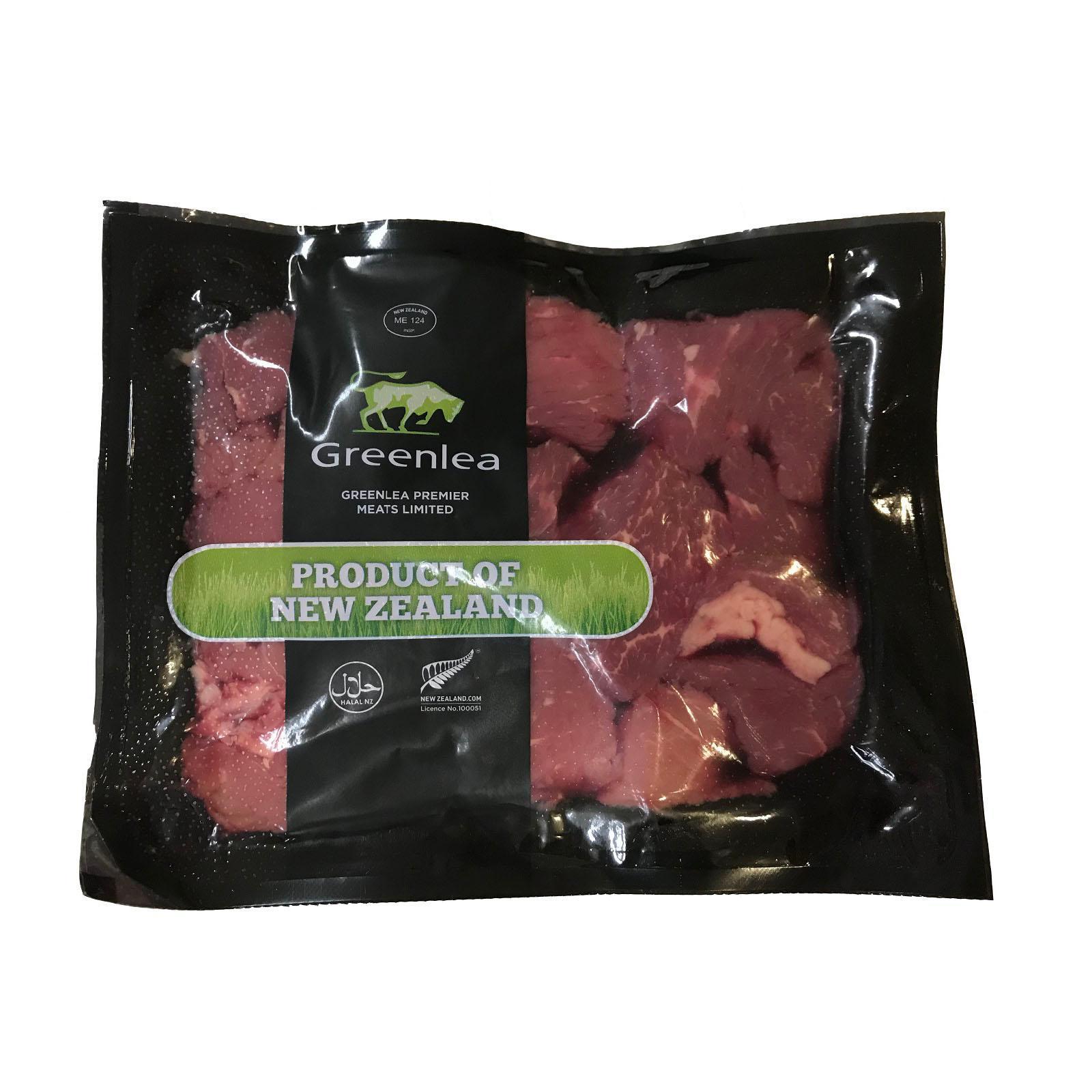 Greenlea Grass Fed Beef Cubes - New Zealand