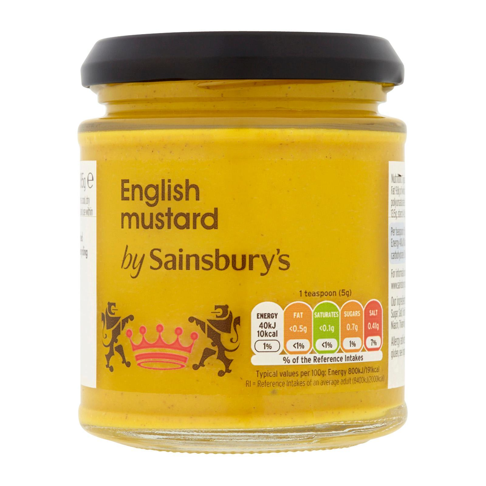 Sainsburys English Mustard By Redmart.