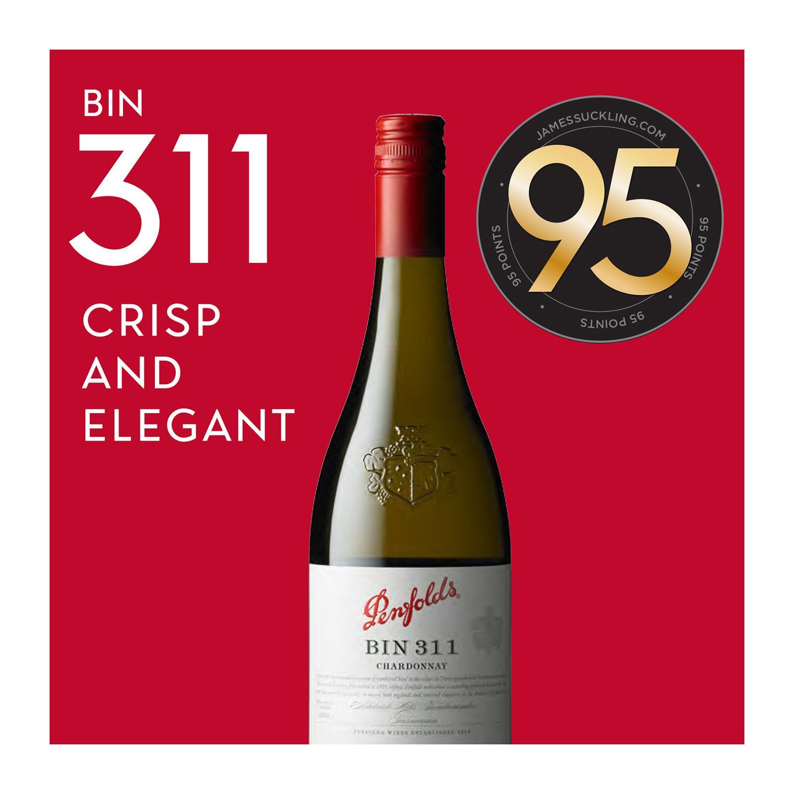 Penfolds Bin 311 Chardonnay 2017 Wine Bottle