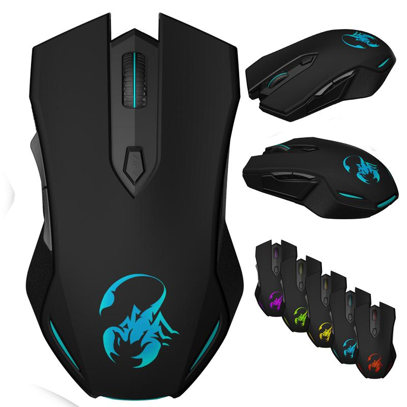 Genie M2-630 tian wang Scorpion Gaming Mouse Sevev Colours the guang hong  Programming cf lol Cable Computer Office Singapore