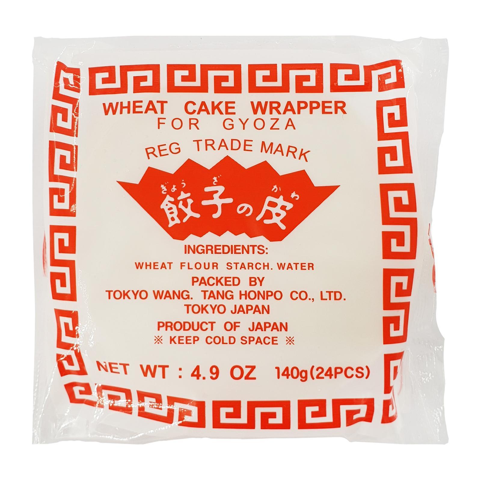 Tokyowantan Wheat Skin Wrap (M) - Gyoza Pan Fried Dumpling 24pcs - Frozen