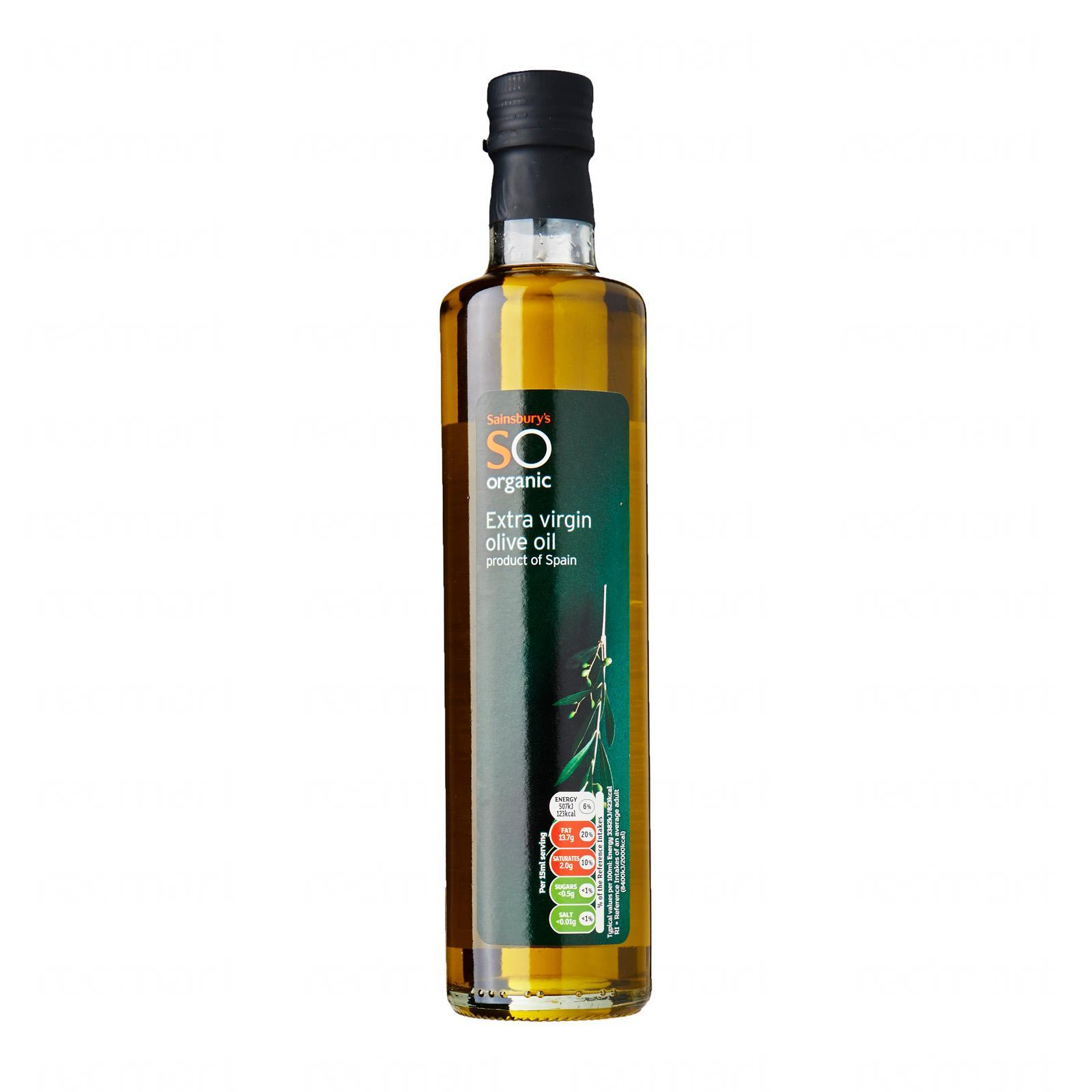Sainsburys Organic Olive Oil Extra Virgin By Redmart.