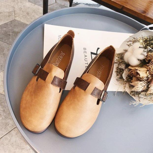 Giày Nữ Đế Mềm Dạng Loafer Ôm Chân Kiểu Hàn Quốc Hiện Đại giá rẻ