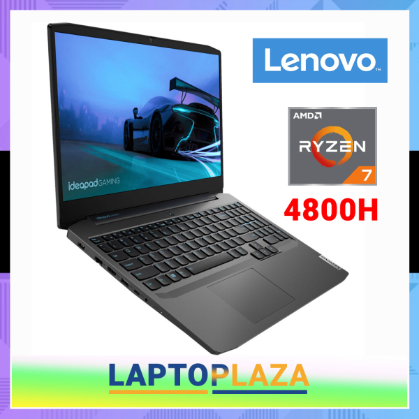 {BRAND-NEW}SG Lenovo IdeaPad Gaming 3 15ARH05 82EY002MSB | Ryzen 7 4700H(6cores,12threads) | 15.6 FHD IPS 120Hz | NVIDIA GTX 1650Ti | 16GB RAM | 256GB SSD+1TB HDD | Win10 Home | 3Years lenovo warranty