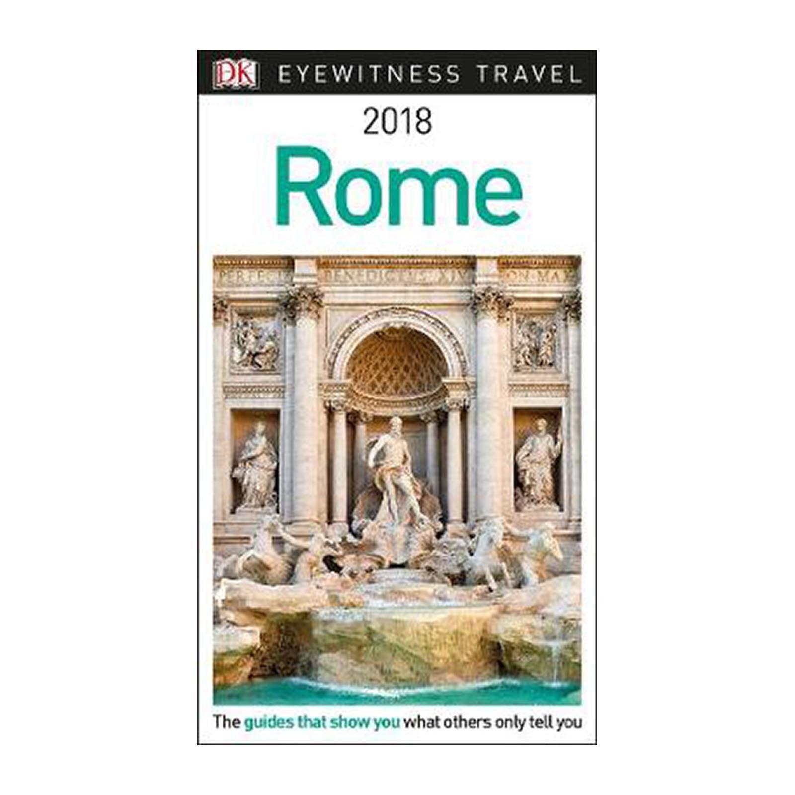 Dk Eyewitness Travel Guide Rome: 2018 (Paperback)