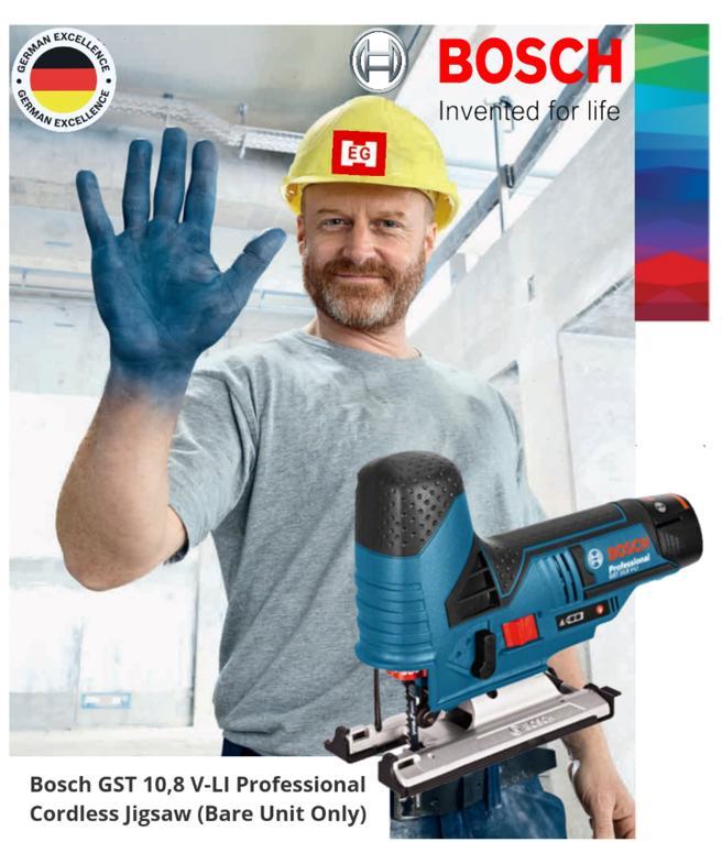 Bosch GST 10.8 V-Li Bare