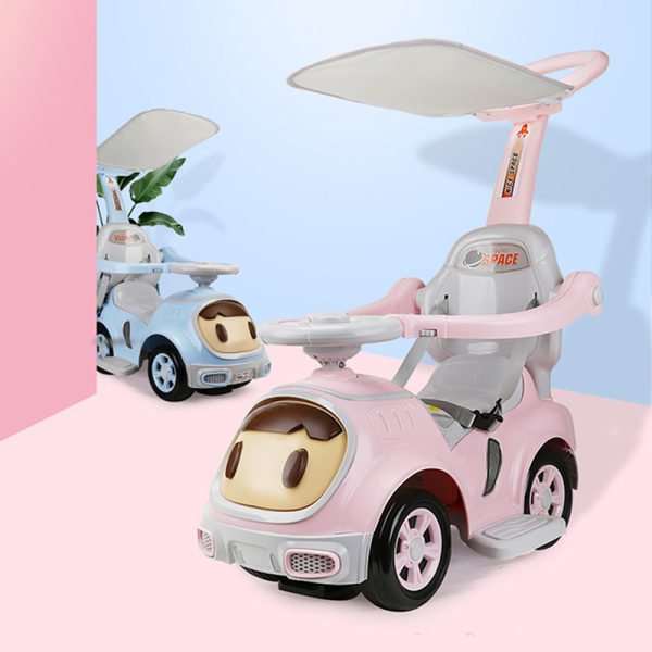 Miu Children 3 In 1 Stroller Twisting Car Yo Car Four Wheel With Music And Mute Wheel For 1-3-6 Years Old Boys And Girls Singapore