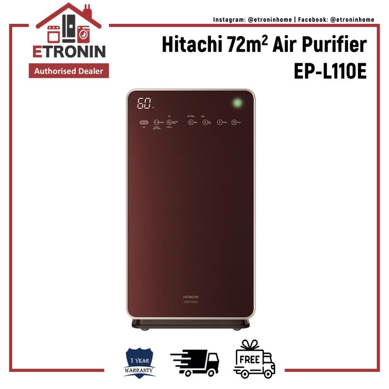 Hitachi 72m2 Air Purifier EP-L110E Singapore