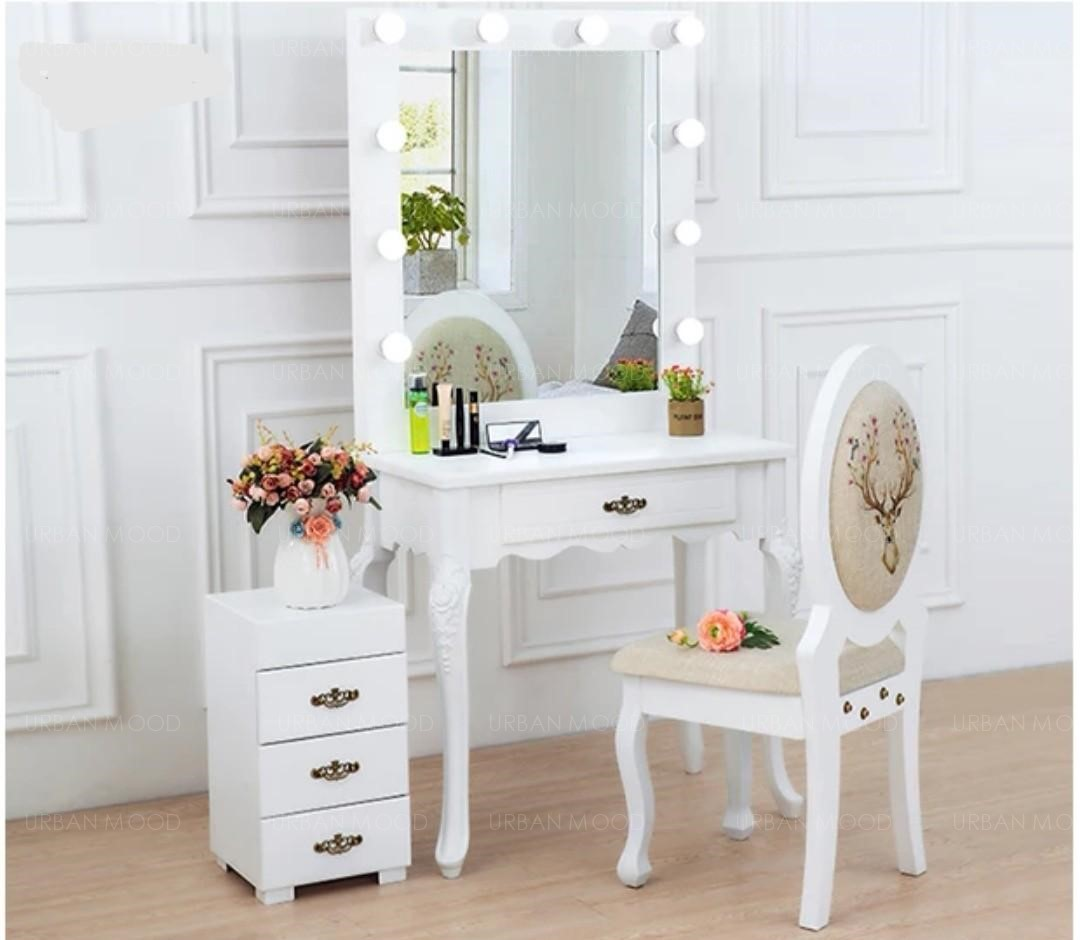 MARILYN Spotlight Backstage Vanity Dressing Table