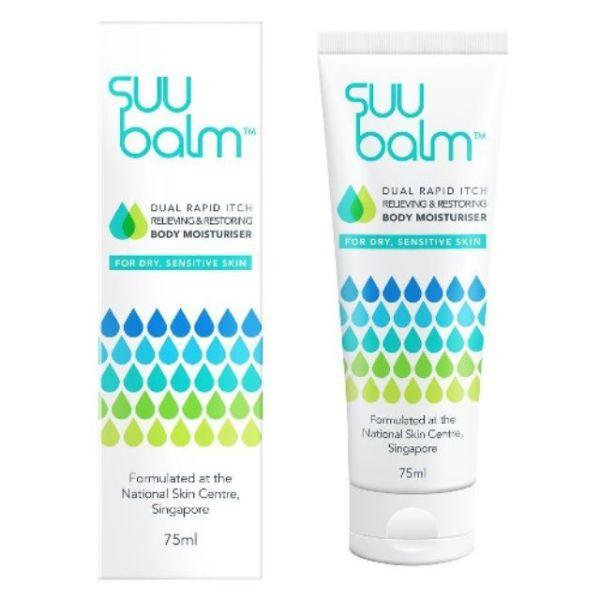 Buy SUU BALM BODY CARE RAPID ITCH RELIEF MOISTURISER 75ML Singapore
