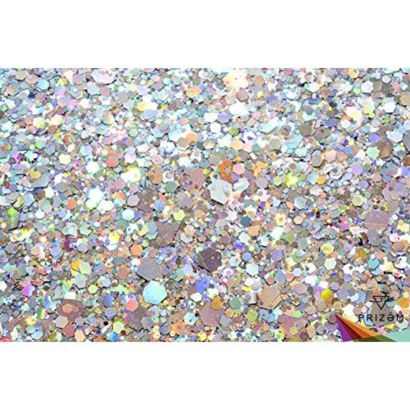 Buy Prizem Cosmic Disco Glitter ▽ 15g ▽ Festival Glitter, Chunky Glitter, Makeup Glitter, Face Glitter, Body Glitter, Glitter Makeup, Hair Glitter, Cosmetic Glitter, Nail Glitter, Eyeshadow Glitter Singapore