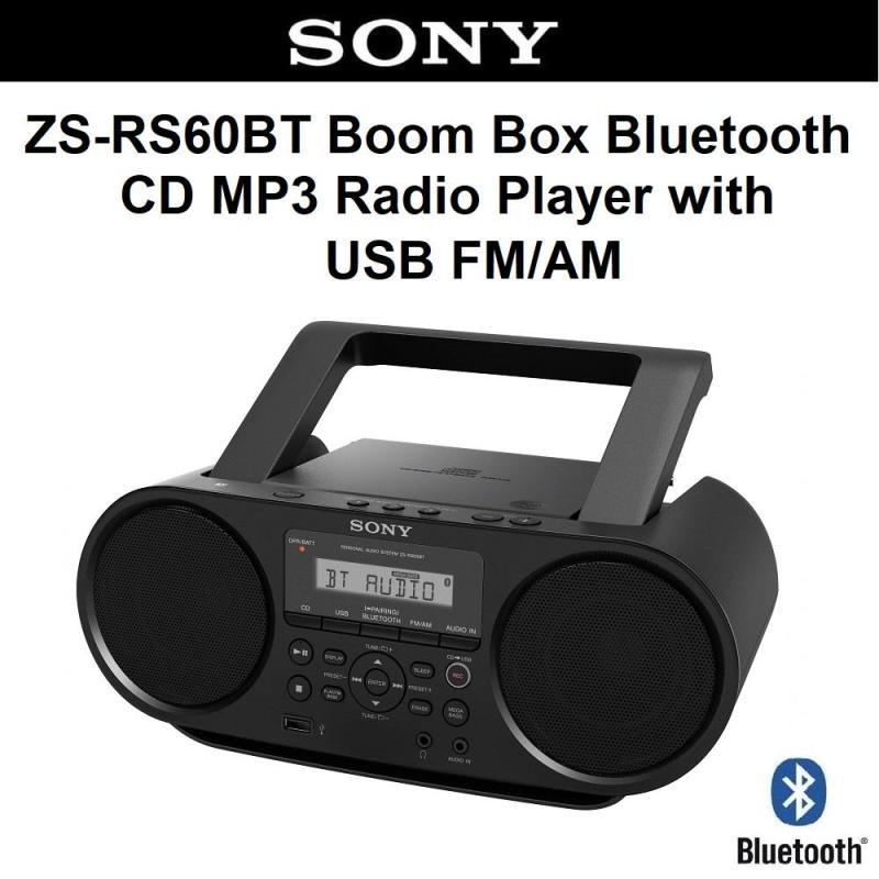 Sony ZS-RS60BT Bluetooth Portable Radio Music CD Player Boombox USB Singapore