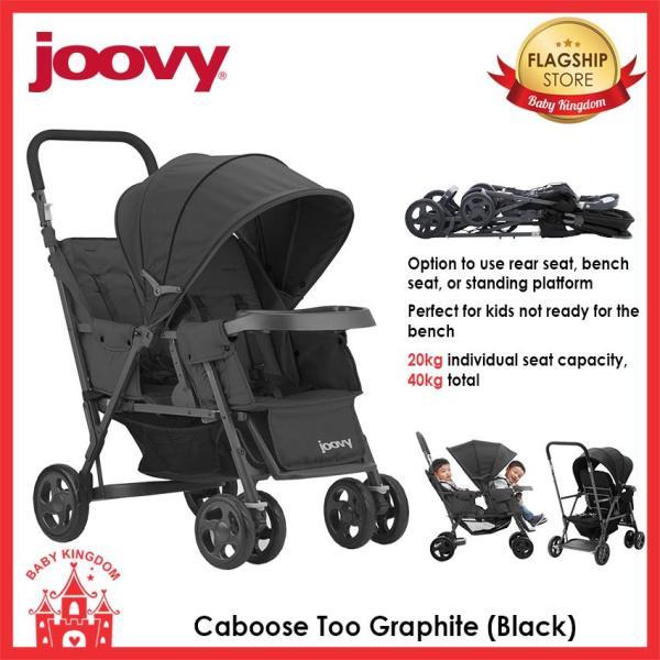 Joovy Caboose Too Graphite (Black) Singapore