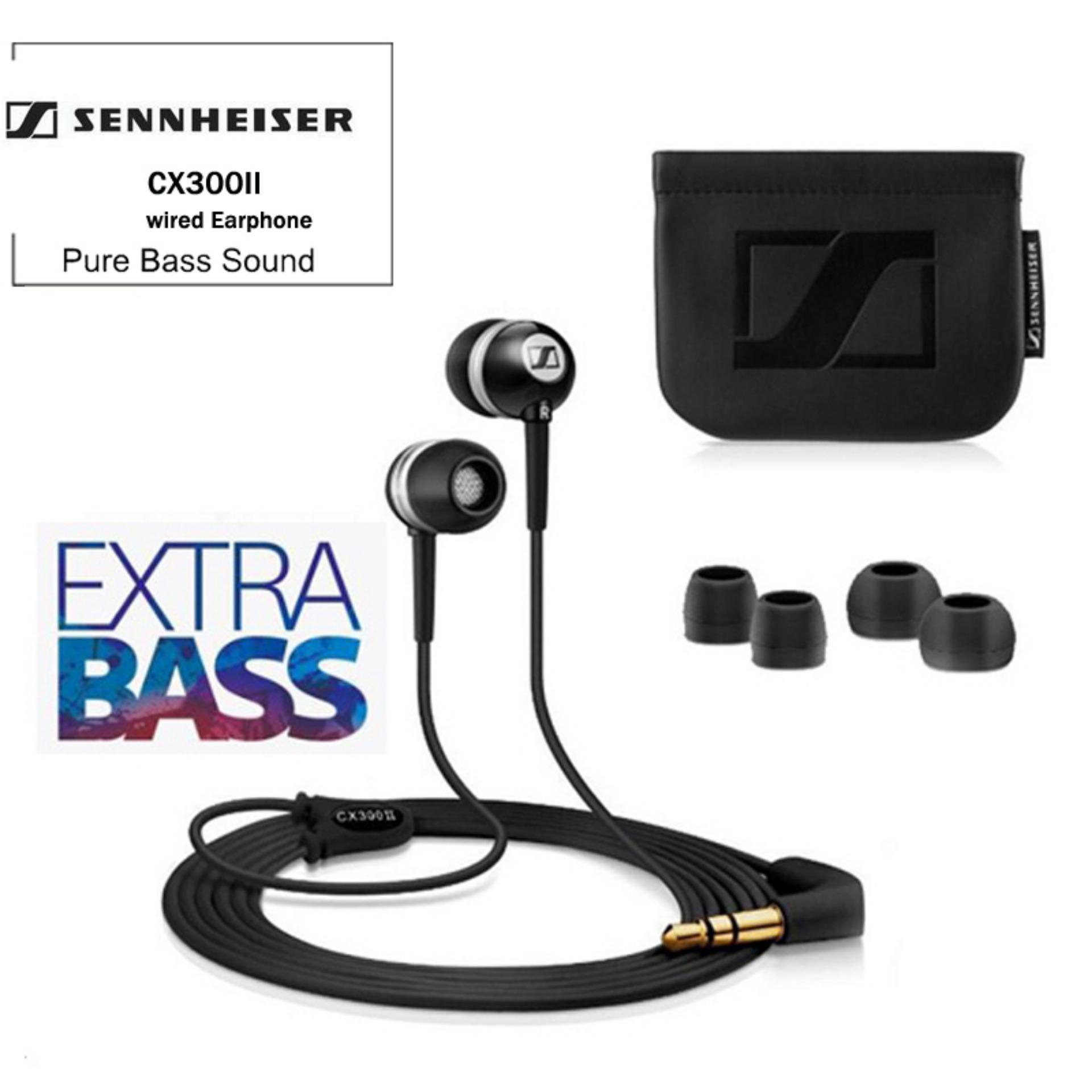 beaee996efb CX300 II CX 300 II Precision Enhanced Bass Earbuds, Black (iOS version)
