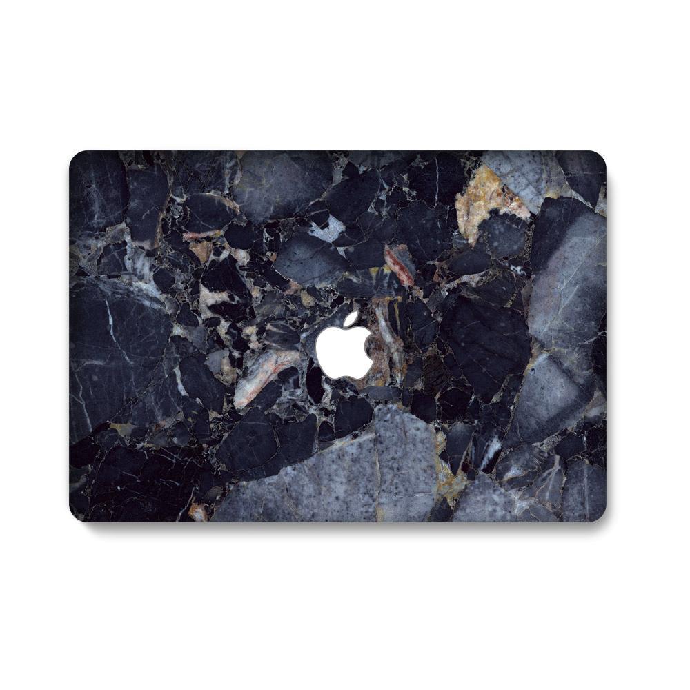 Blue/Black Rock Matte Casing for Apple MacBook New Air 13 (A1932) Laptops Accessories