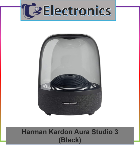 Harman Kardon Aura Studio 3 Wireless Bluetooth Speaker with Ambient Light - T2 Electronics Singapore