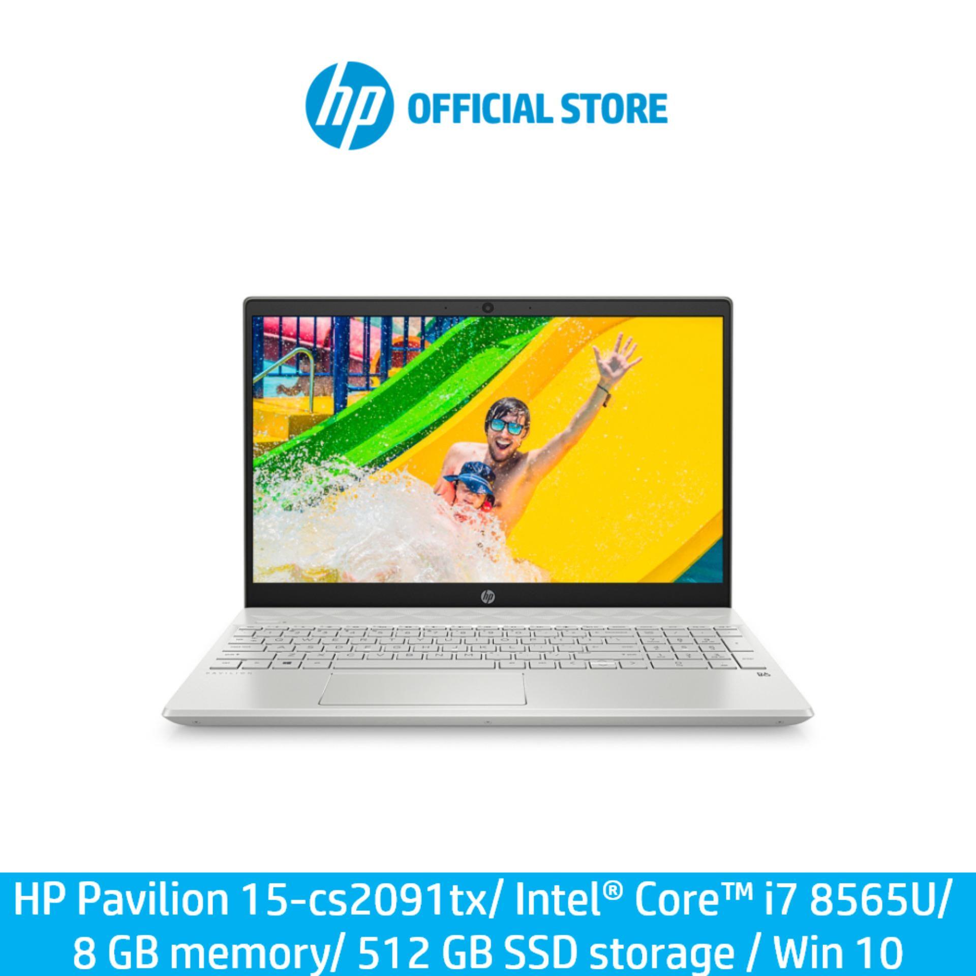 HP Pavilion 15-cs2091tx/ Intel® Core™ i7 8565U/ 8 GB memory/ 512 GB SSD storage / Win 10