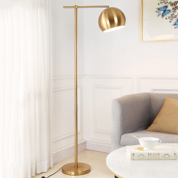 Floor-Standing Lamp Living Room Bedroom Northern Europe Warm Dimming Creative American Light Luxury Online Celebrity Ins Sofa Vertical Type Fishing Lights