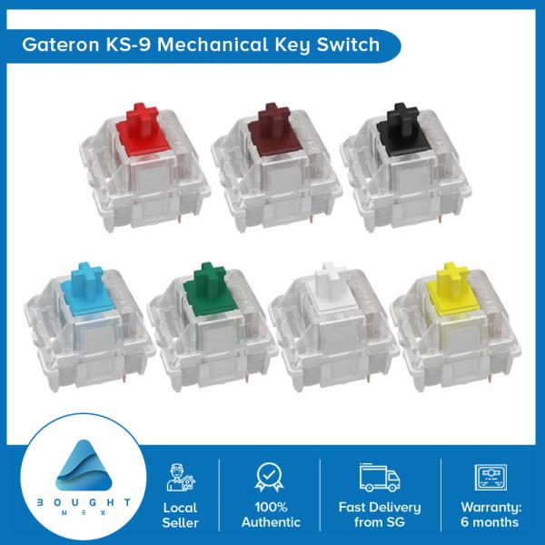 Gateron KS-9 RGB Mechanical MX Type Key Switch Red Blue Brown Yellow Green black White Keyboard Switch Set