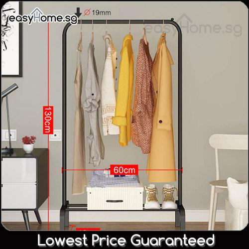 E00 Clothes Rack/ Laundry Hanger Shelves Closet Wardrobe Bedroom Stand