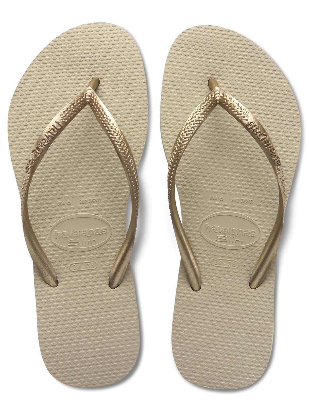 349c145f8895a4 Havaianas Slim Sand Grey   Light Golden