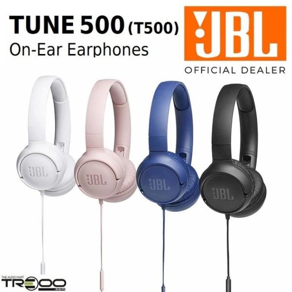 JBL TUNE 500 (T500) Pure Bass On-Ear Headphone Singapore