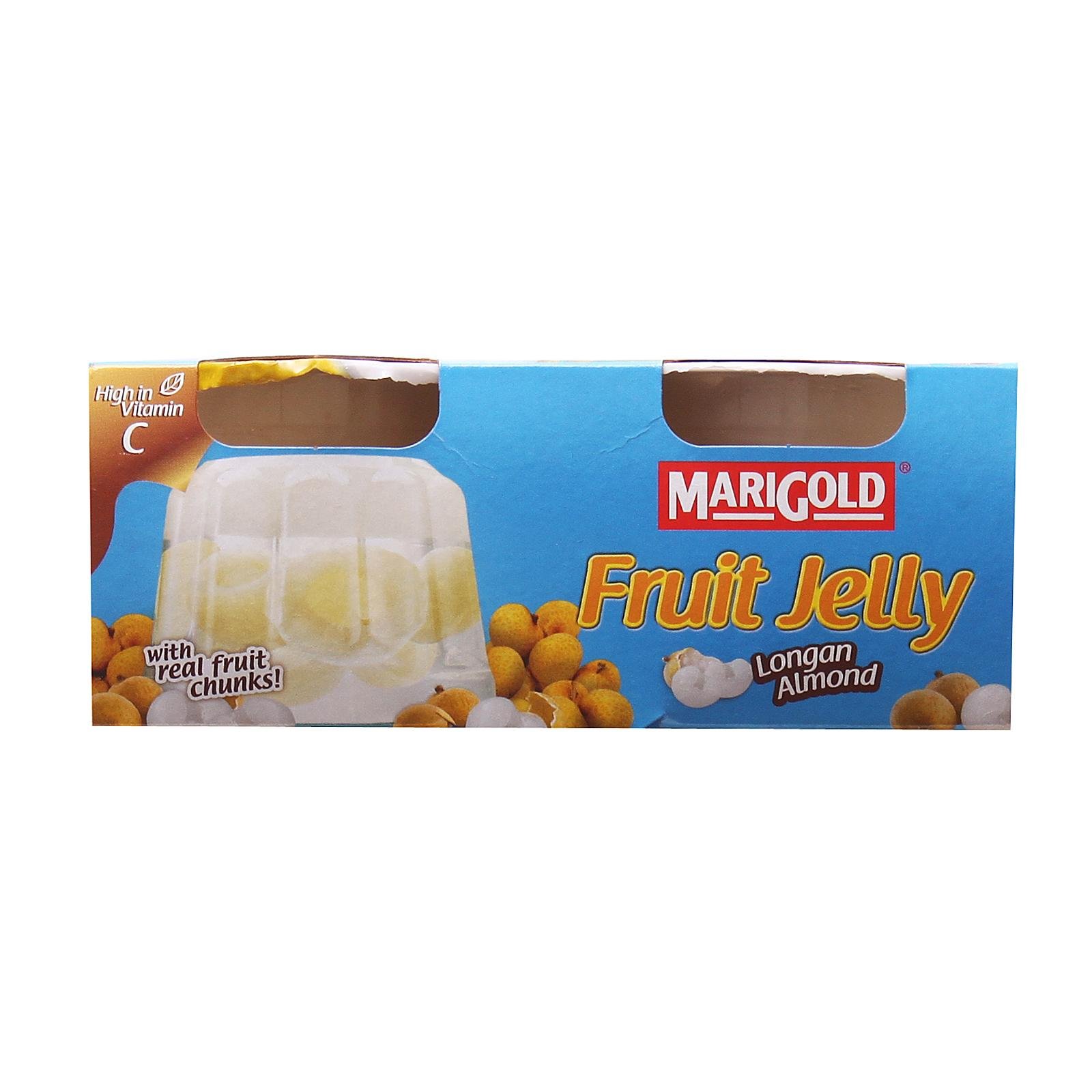 Marigold Jelly - Longan Almond By Redmart.