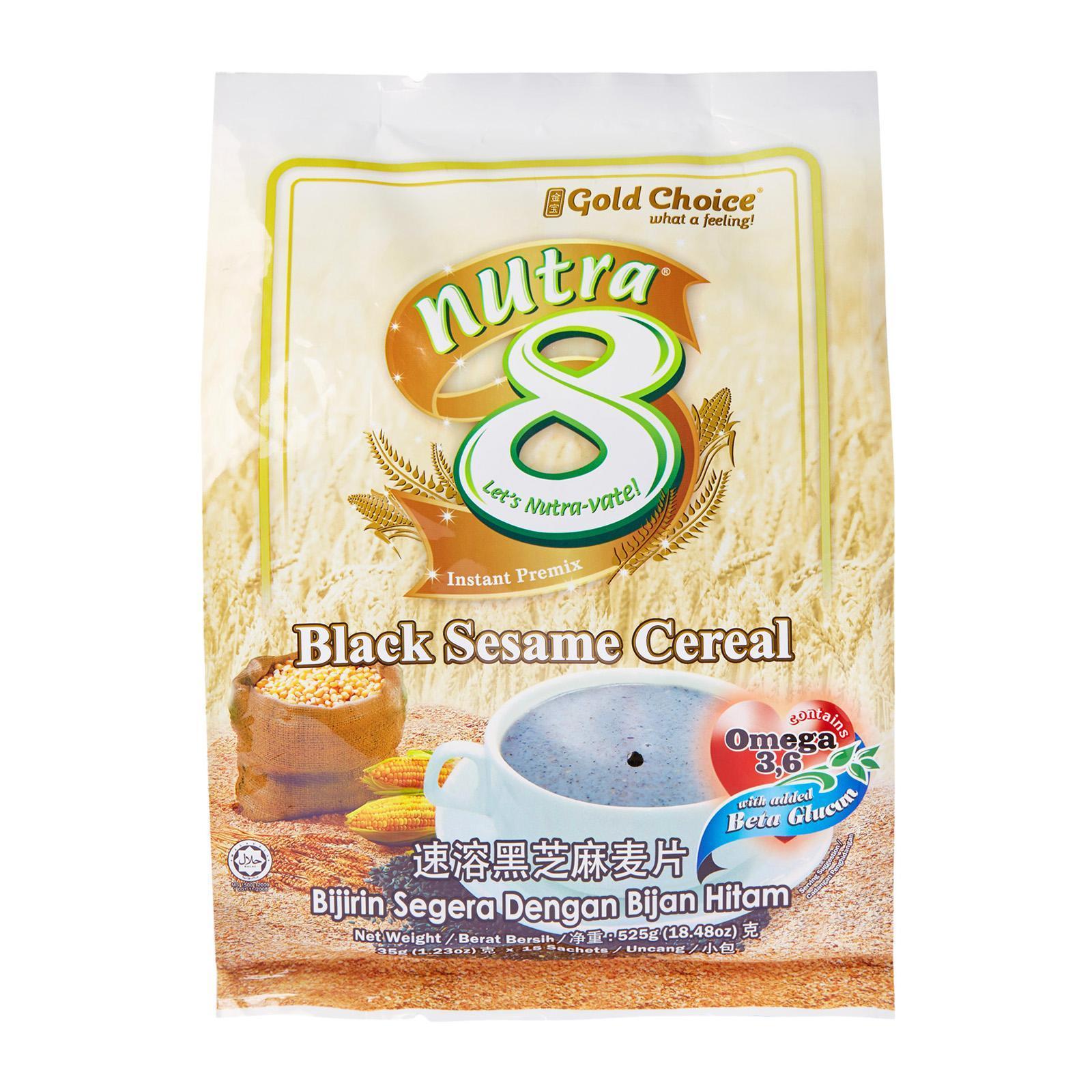 Nutra8 Black Sesame Cereal Instant Premix By Redmart.