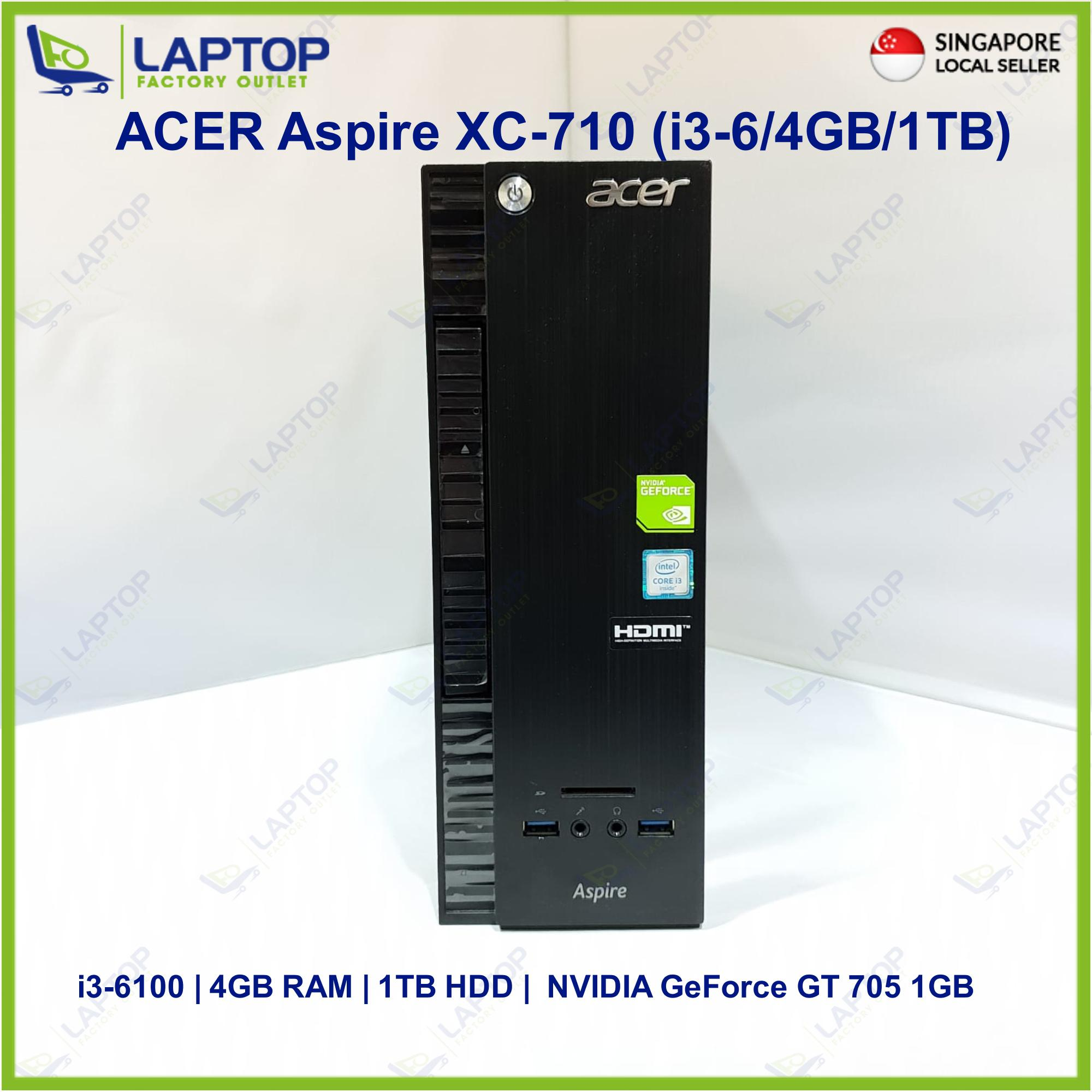 Acer Aspire Xc-710 (i3-6/4gb/1tb) Premium Preowned [refurbished] By Laptop Factory Outlet (capitaland Merchant).