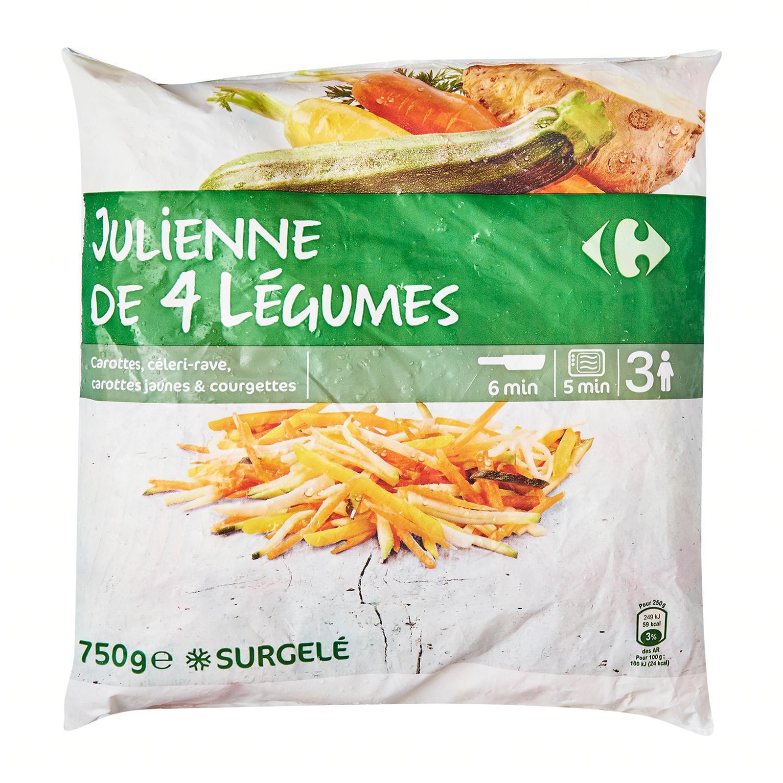 Carrefour Veggies In Julienne - Frozen - By Le Petit Depot By Redmart.