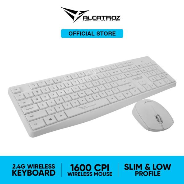 Alcatroz Xplorer Air 6600 2.4G Wireless Keyboard and Mouse Combos Singapore