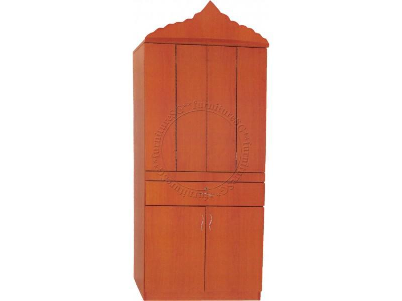 (FurnitureSG) Wooden Hindu Prayer Altar AT1069B