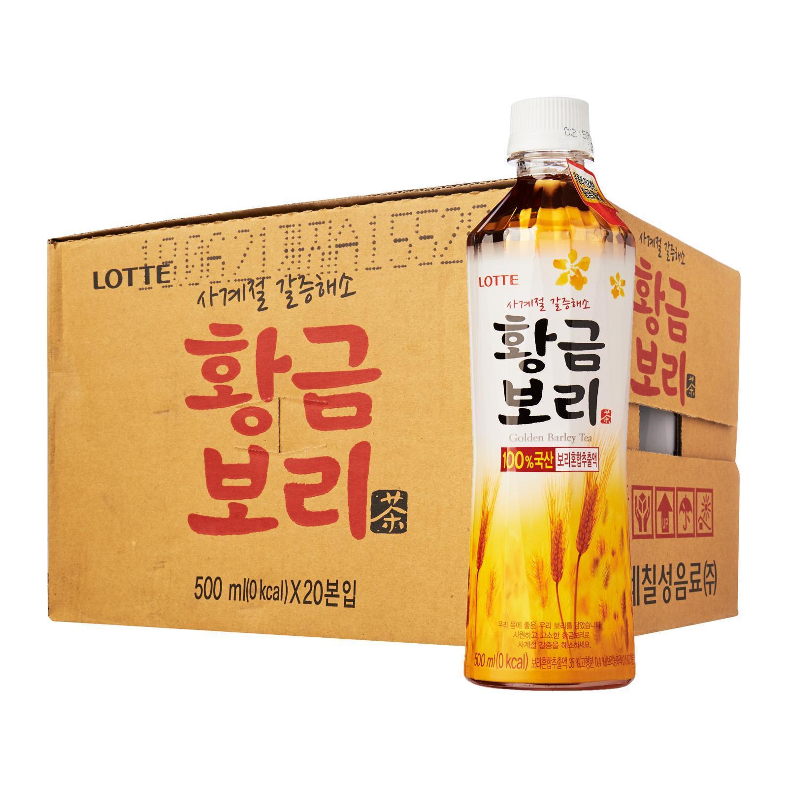 Lotte Chilsung Golden Barley Tea - Case