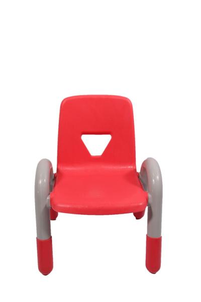 Kindergarten Plastic Chair IV - Stylish and Compact