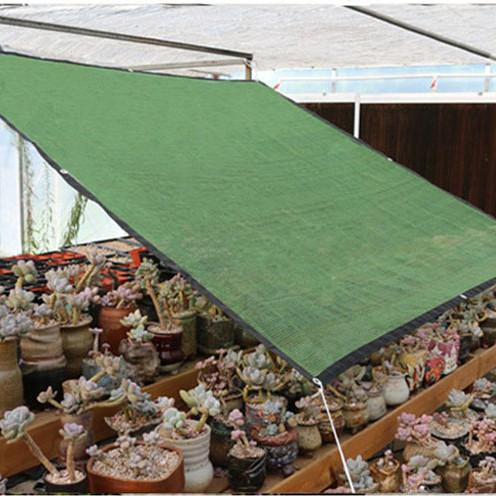 HDPE Sun Shade Plant Cover 50% Sun Blocking Hot Resistant Netting Mesh for Garden Greenhouse Flower Olive Green