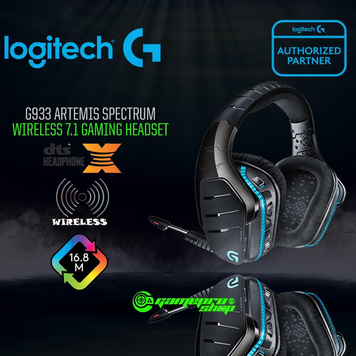 Logitech G933 Artemis Spectrum Wireless 7 1 Surround Sound Gaming Headset  Singapore