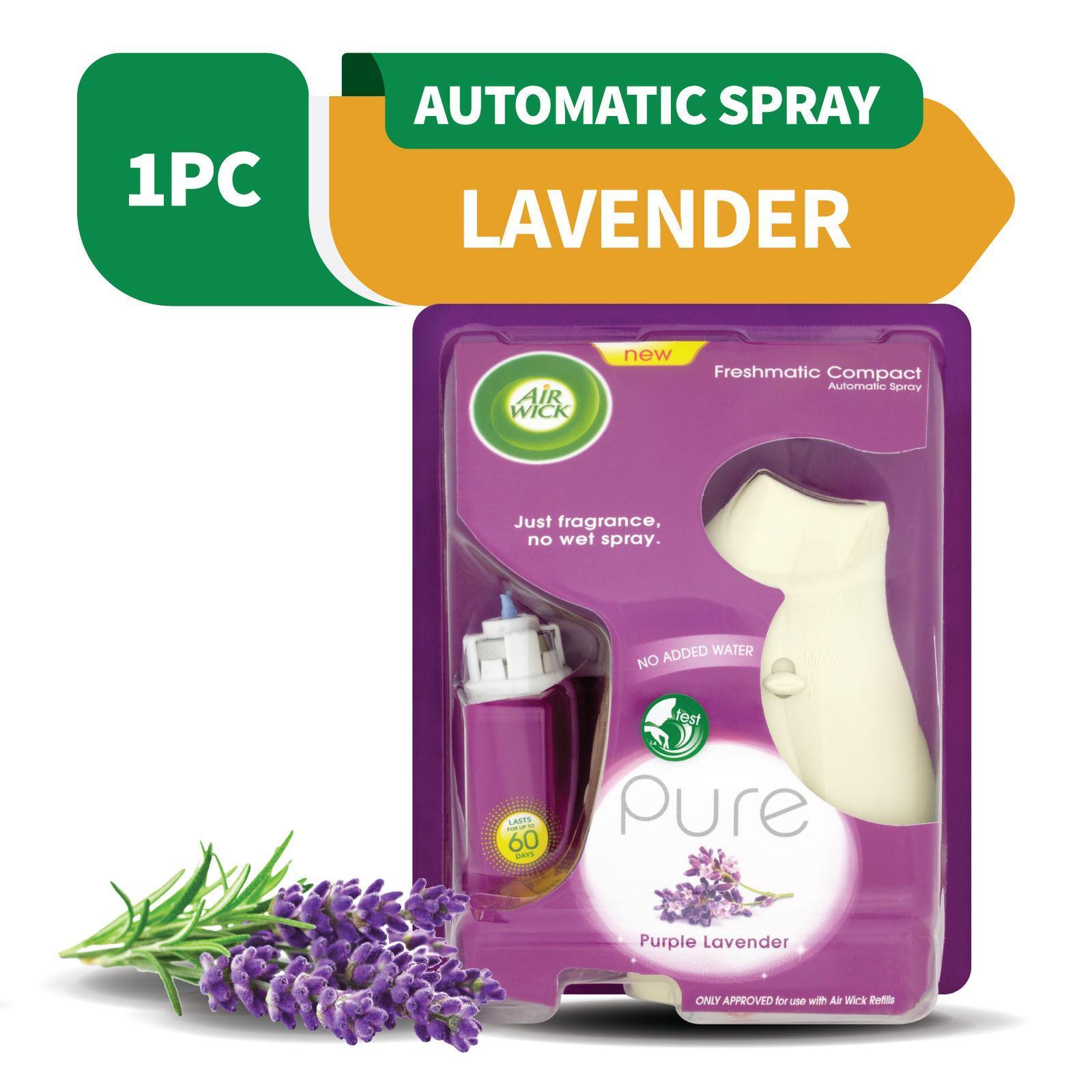 Air Wick Freshmatic Compact Automatic Spray Gadget Purple Lavender