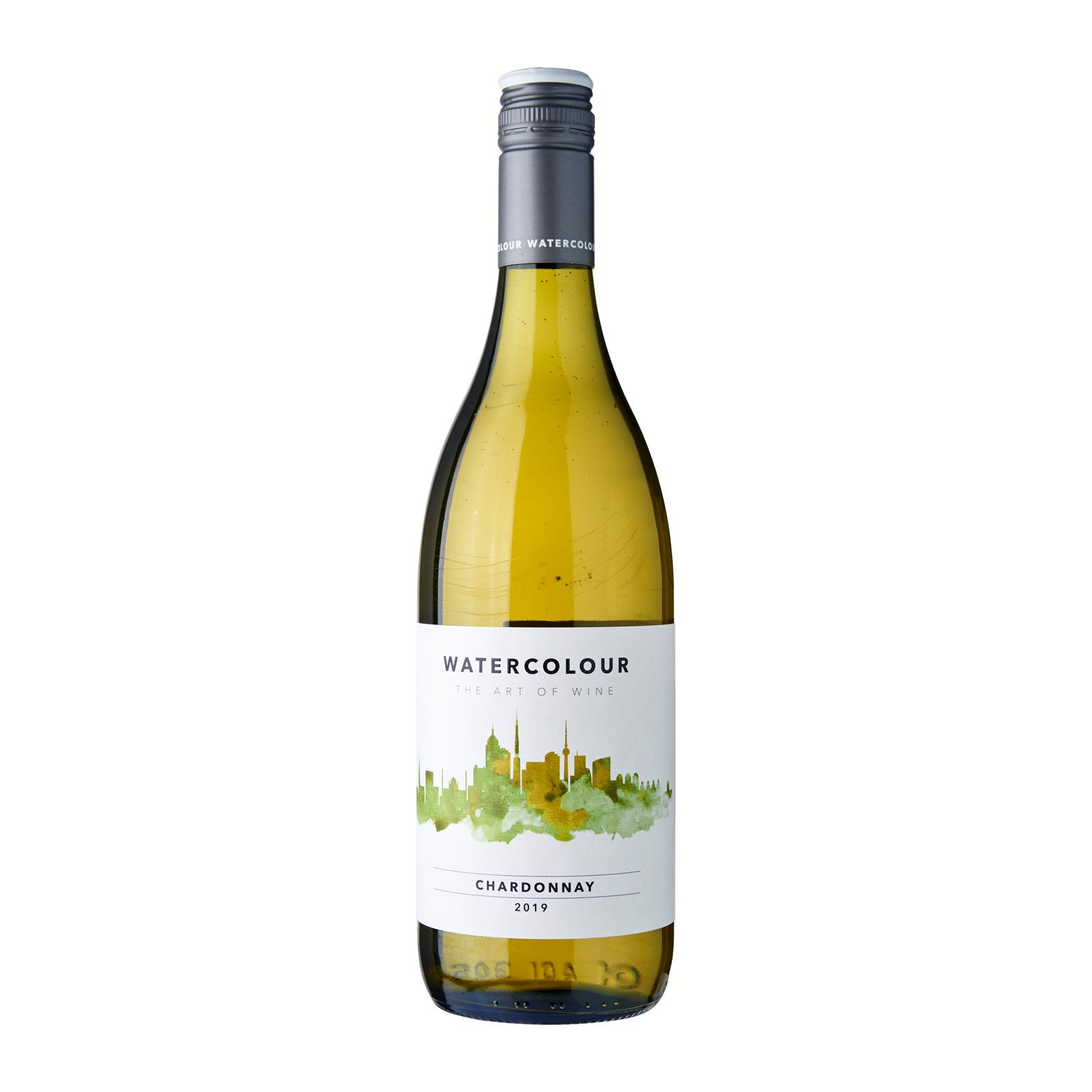 Watercolour Chardonnay White Wine Australia