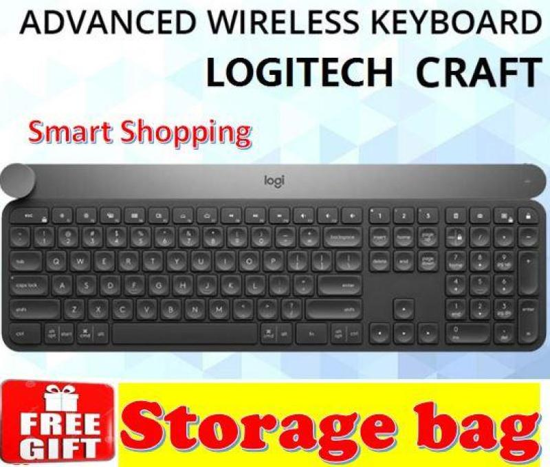 Logitech Craft Wireless Advanced Keyboard with Creative Input Dial KB Singapore