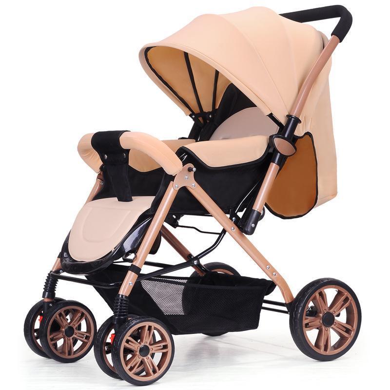 Ggx Baby Stroller Light Portable Buggy Baby Winter Summer Hand Push Box Armchair Folding Children High Landscape Baby Singapore