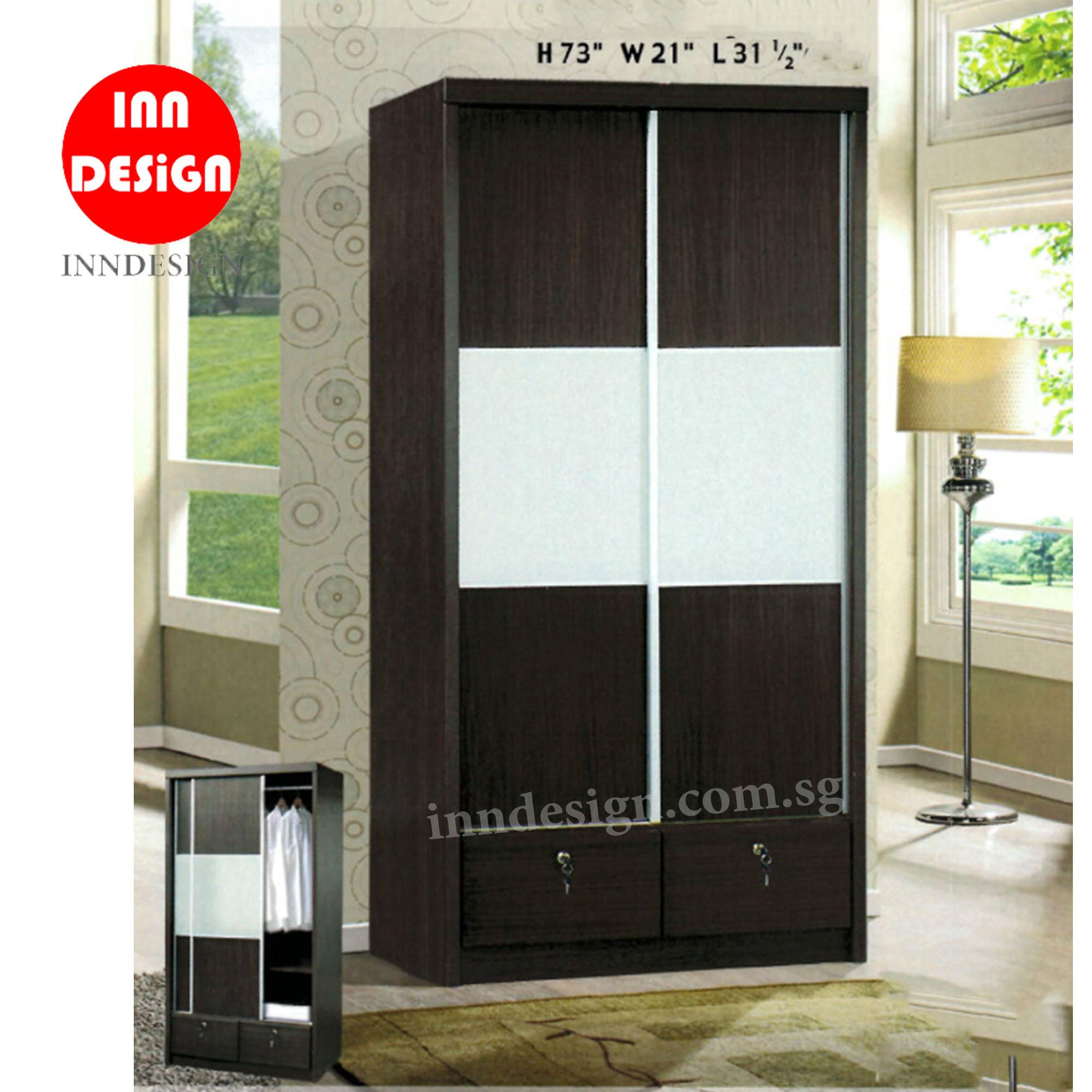 Alexis Sliding Wardrobe (Free Delivery and Installation)