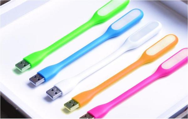 4pcs LED Light USB Light Keyboard Gadget Portable Bendable Mini Lamp USB Powered Plug