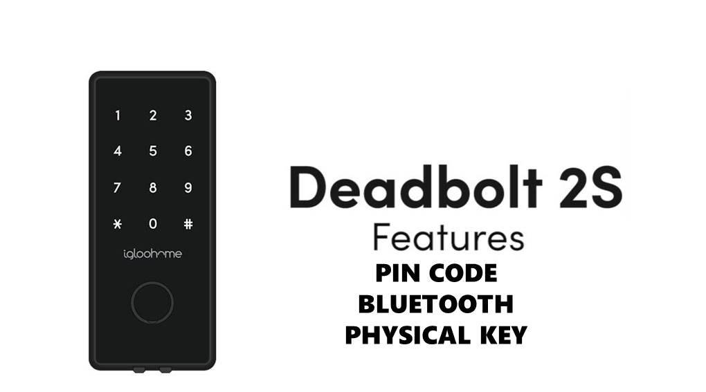 Igloohome Smart Deadbolt 2S Digital Lock [FREE INSTALLATION]