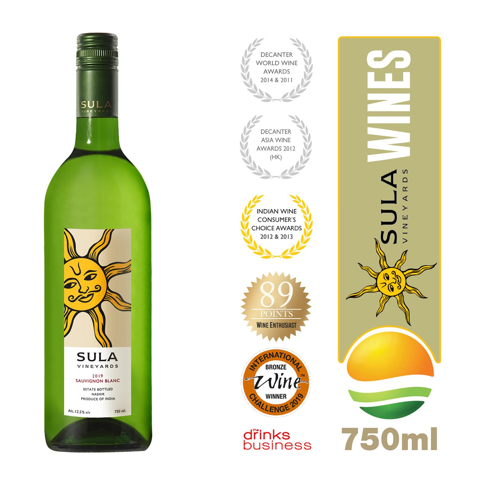Sula Sauvignon Blanc White Wine - By Sonnamera