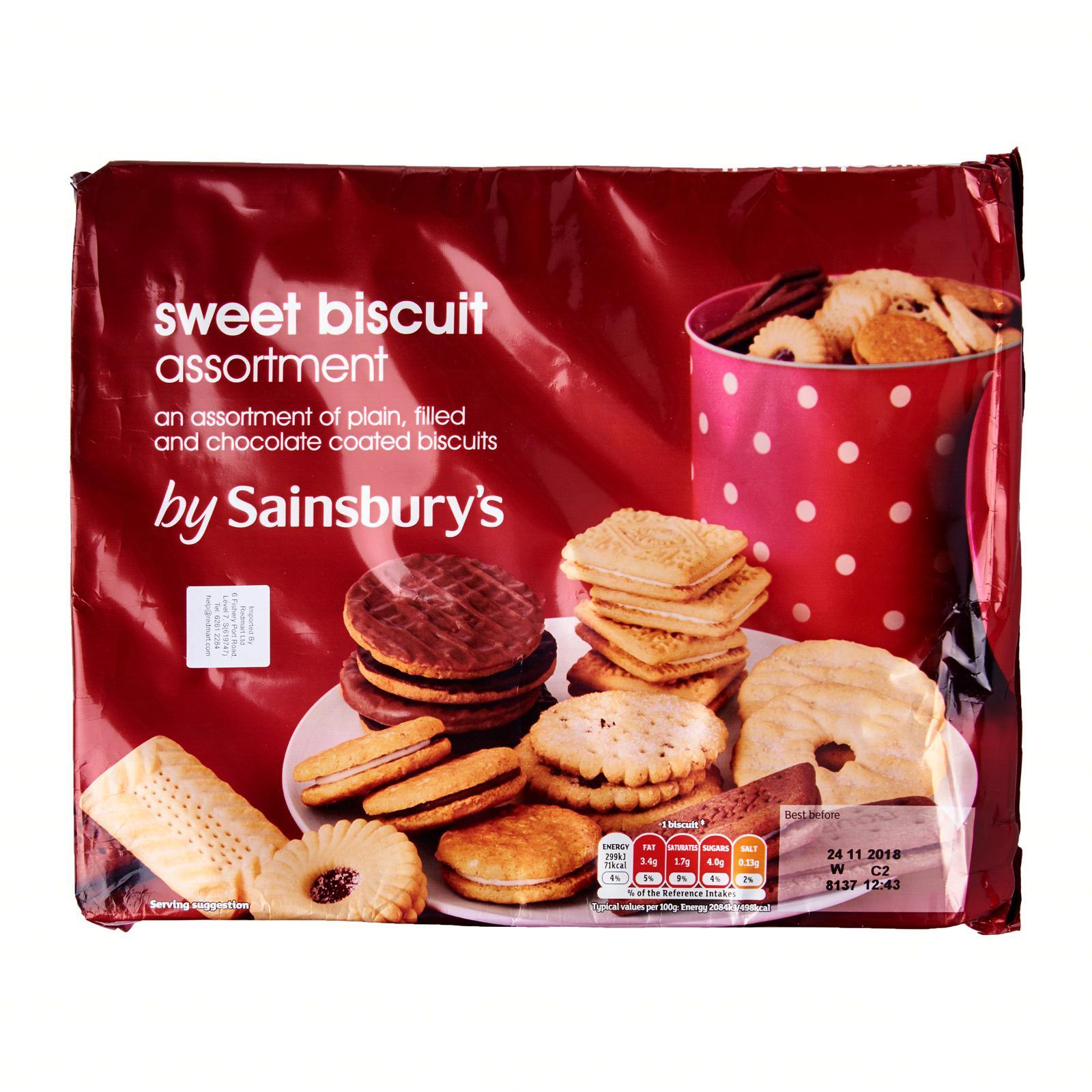 Sainsbury's Biscuits Assortment