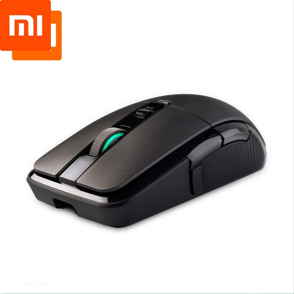 New Xiaomi Wireless Mouse Gaming 7200DPI RGB Backlight Game Optical Rechargeable 32-bit ARM USB 2.4GHz Computer Mouse
