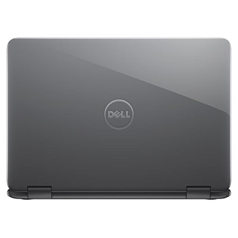 Dell i3168-3272GRY 11.6  HD 2-in-1 Laptop (Intel Pentium, 4GB, 500 GB HDD, Windows 10) - Gray