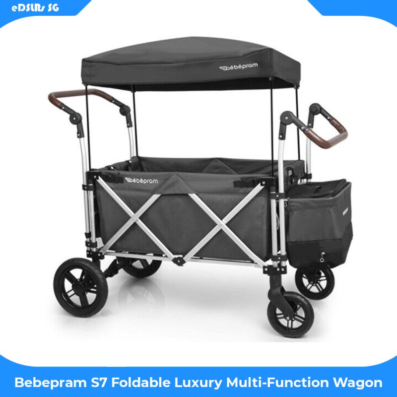 Bebepram S7 Foldable Luxury Multi-Function Wagon Singapore